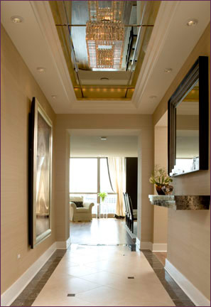 Schreyer associates inc pictures and photographs of for Interior designs hallways